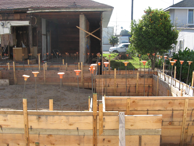 Laying Foundation in Santa Barbara