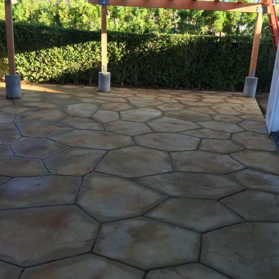 STAMPED concrete in Santa Barbara
